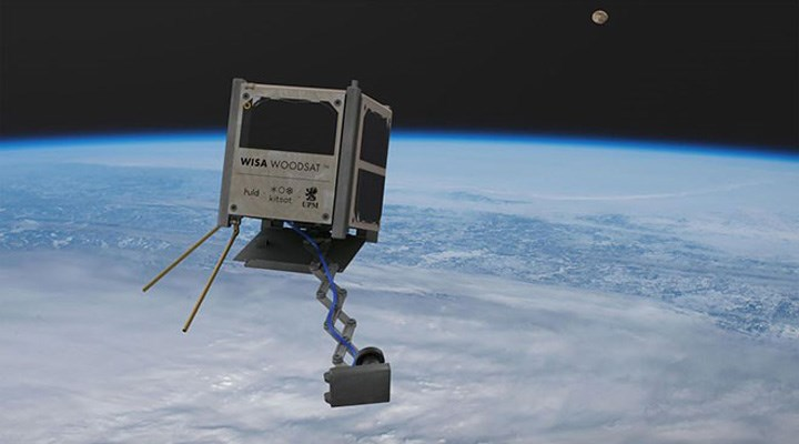 Finlandiya 'nın ahşap uydusu, bu yıl içinde uzaya gönderilebilir