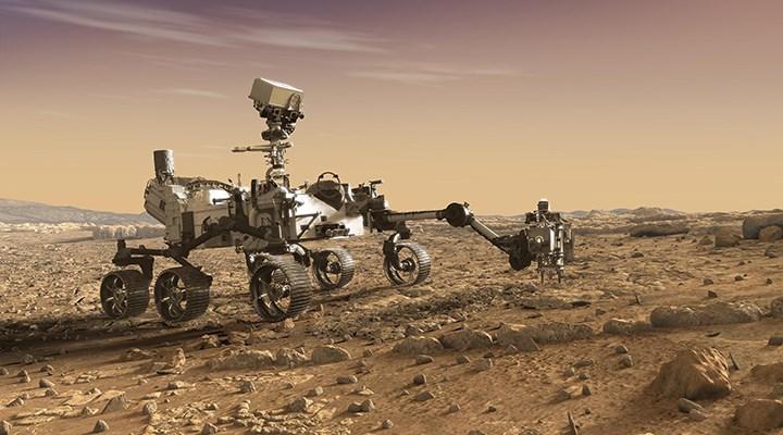 Mars'tan ilk kaya örneği alındı